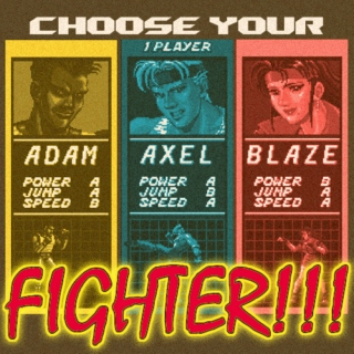 choose your FIGHTER!!!