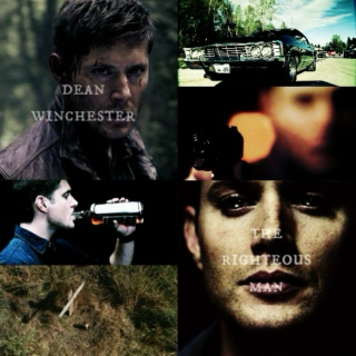 dean winchester; the righteous man