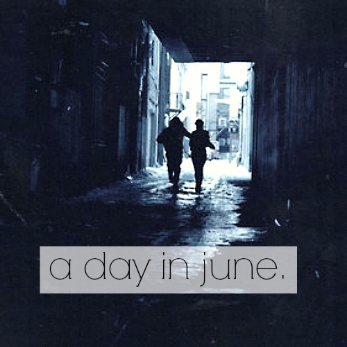 a day in june.