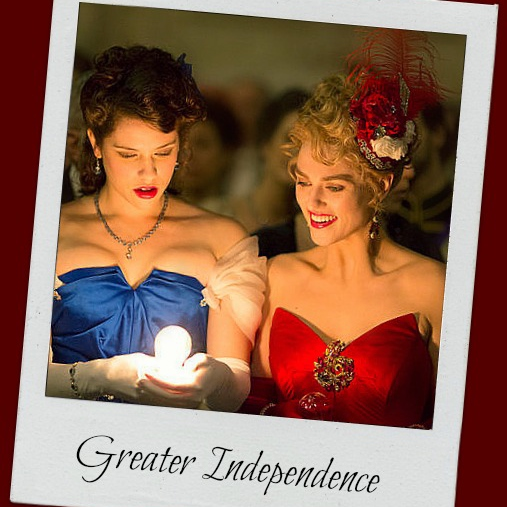 """""""Greater Independence"""""""