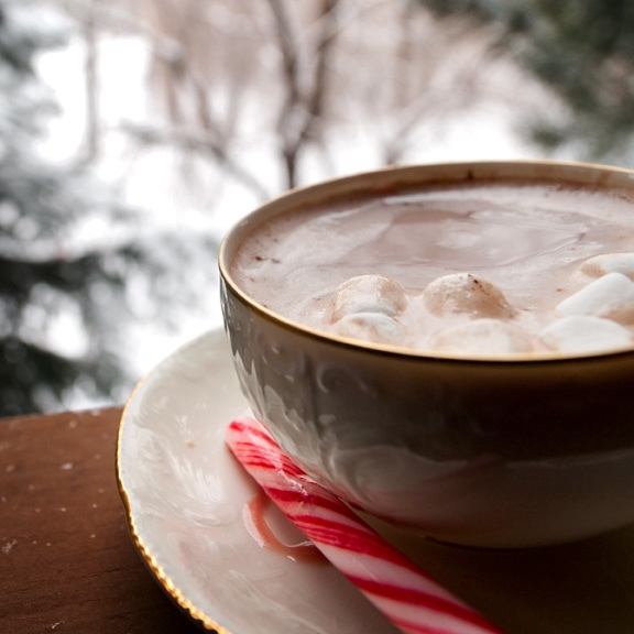 Hot Chocolate and Candycanes