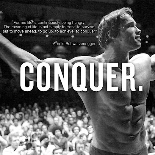 Conquer All and Never Back Down