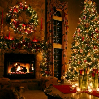 Christmas by the Fire.