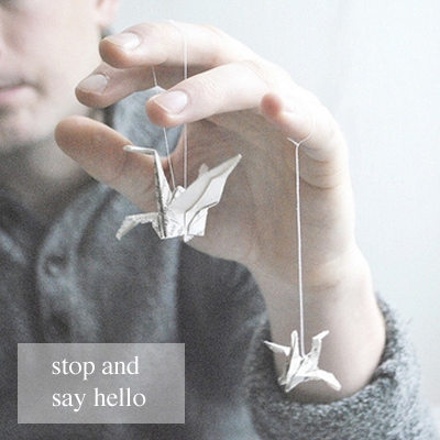 stop and say hello