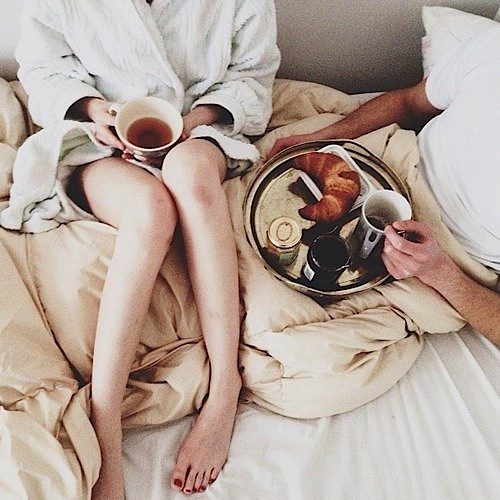 mornings with him
