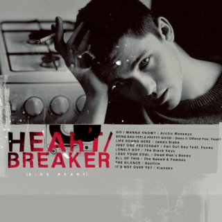 HEART/breaker (side heart)