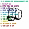 Vol 2: Songs to Be Aggressive To