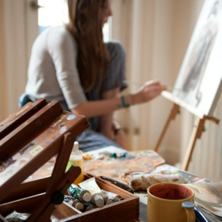 the world is your canvas: songs for painting