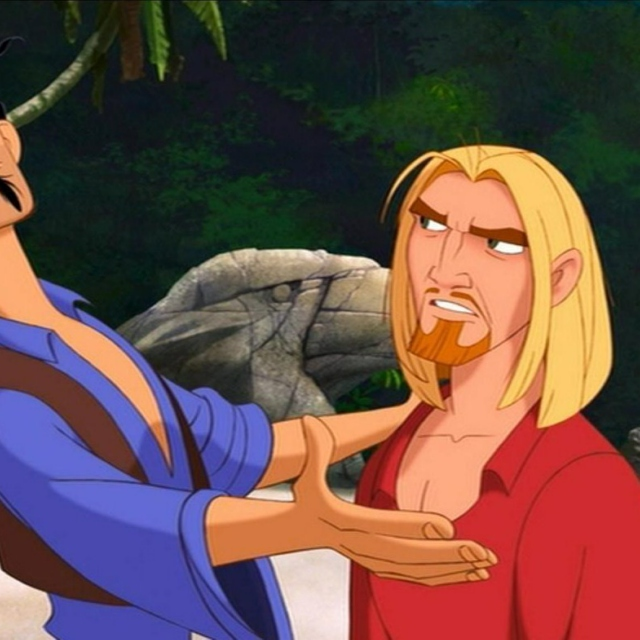 You are the Miguel to my Tulio