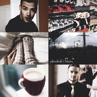 liam, sweaters, coffee, & rain