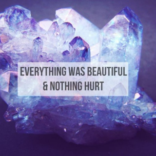 everything was beautiful & nothing hurt