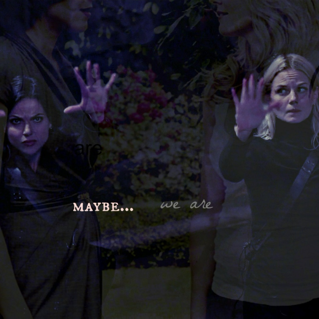 maybe... we are (a swan queen fanmix)