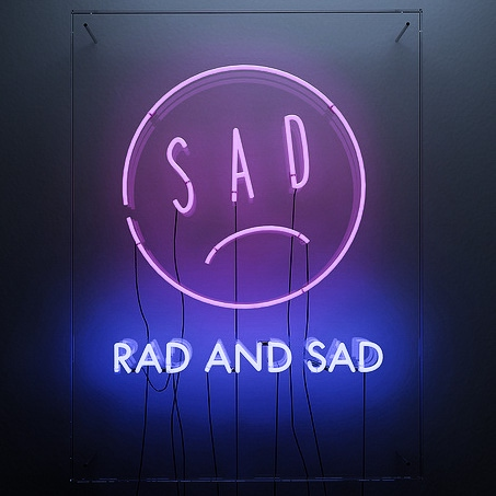 ♡ sad and rad ♡