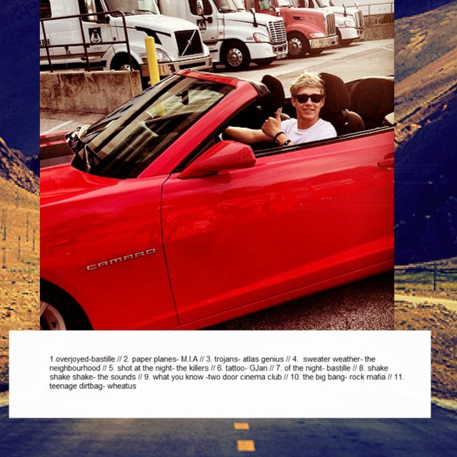 Road trip with niall