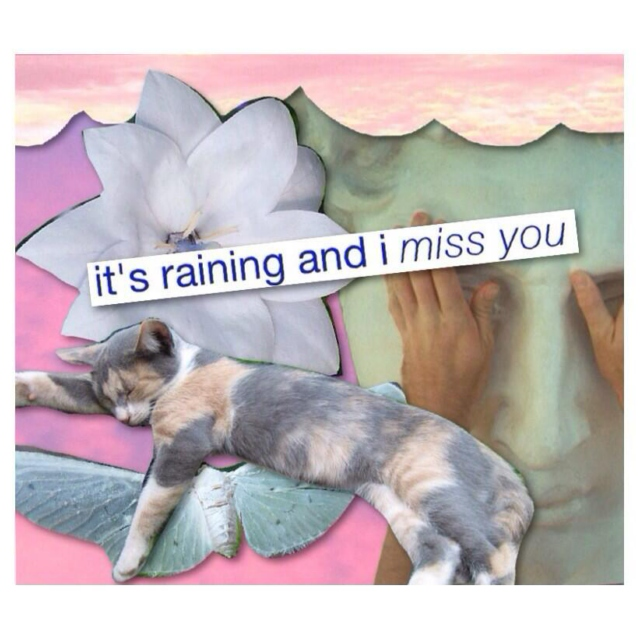 it's raining and i miss you