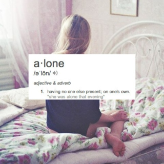 can i be alone?