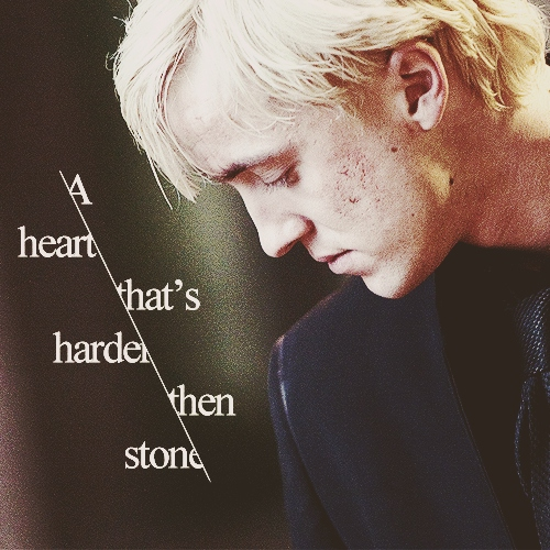 A heart that's harder then stone