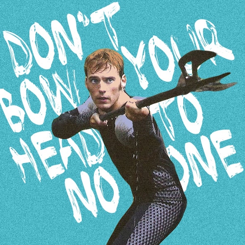 don't bow your head to no one • a finnick mix