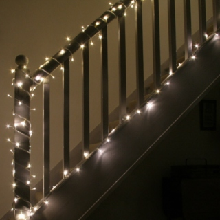 deck it out with fairy lights till we are content!