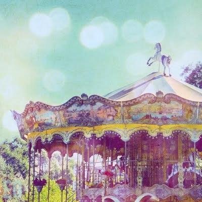 Carousel on a Beach