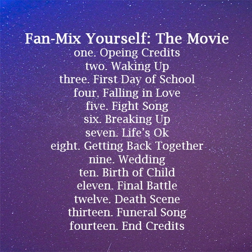 Fan-Mix Yourself: The Movie