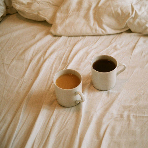 One very quiet evening with ginger honey tea and you