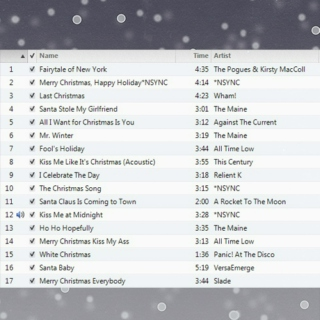 just another Christmas mix