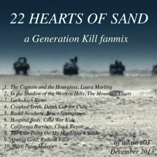 22 Hearts of Sand