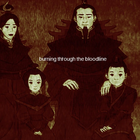 burning through the bloodline - a fire nation royal family mix