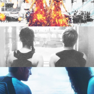 last night on earth;♚katniss x peeta♚