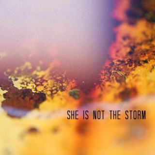 she is not the storm