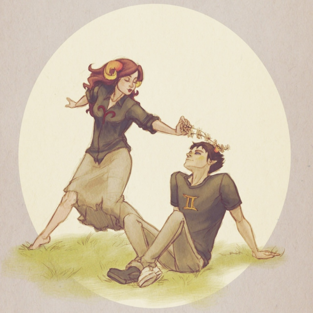 Here In Your Arms ((Aradia x Sollux))