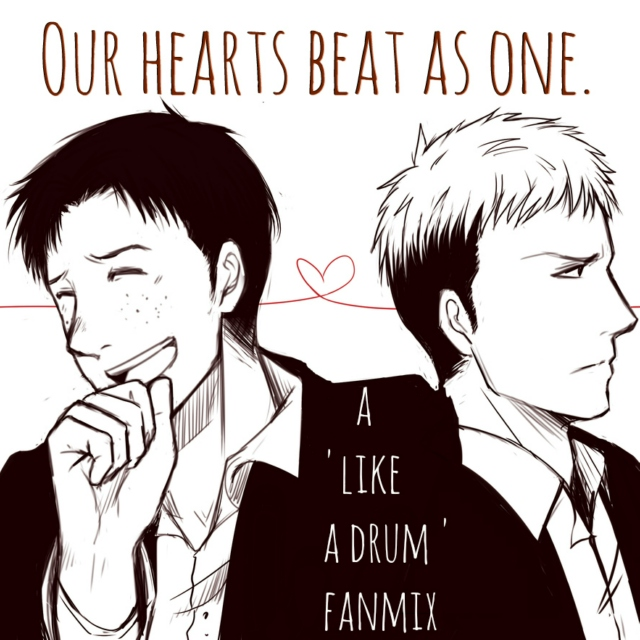 Our hearts beat as one.