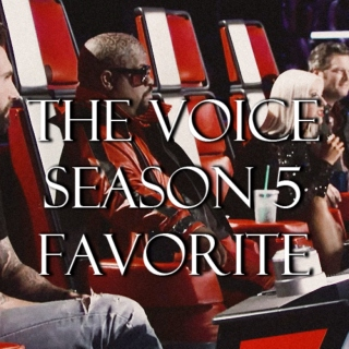 the voice season 5 favorite.