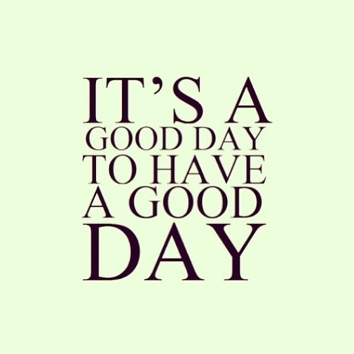 For a Good Day ~