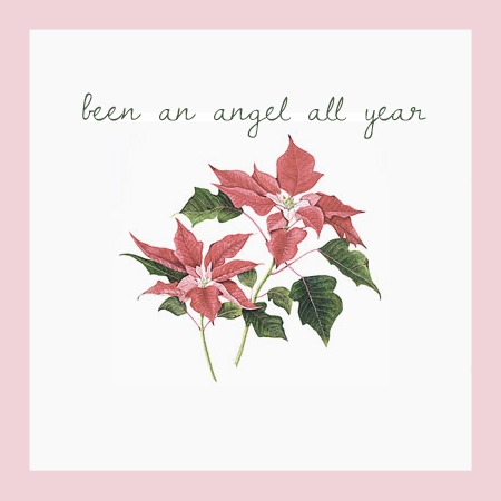 been an angel all year