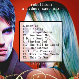 rebellion: a sydney sage mix