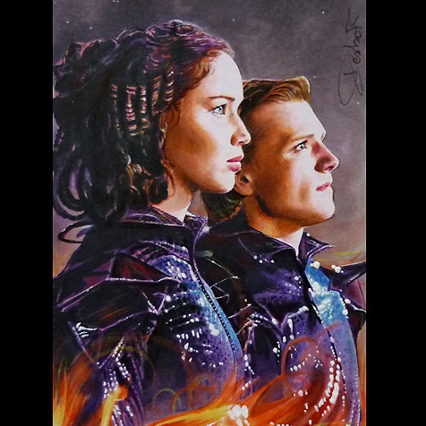Hunger Games Tribute