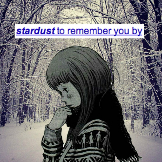 ⌞stardust to remember you by⌝