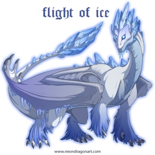 flight of ice