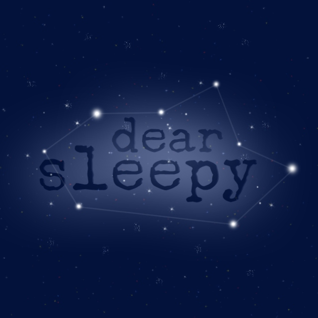 dear sleepy