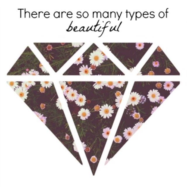 there are so many types of beautiful
