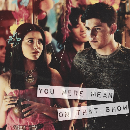 ♡ you were mean on that show ♡