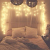 bedroom fairy lights