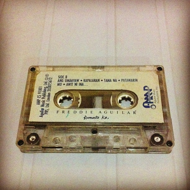 Songs that broke my cassette player.