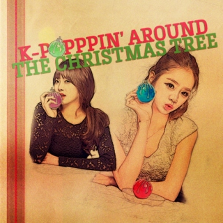 k-poppin' around the christmas tree