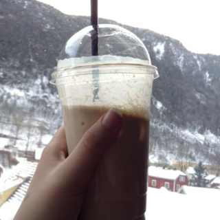 chillin´ with a frappe