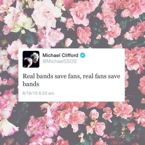 real bands save fans, real fans save bands