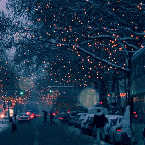 Christmas in the streets...