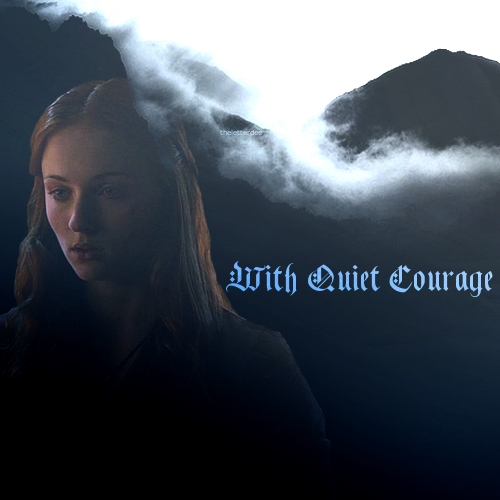 With Quiet Courage